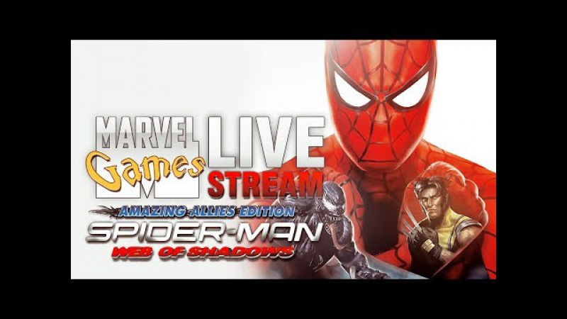 MG Live Stream 31 - Spider-Man: Web of Shadows - Amazing Allies Edition (PSP)