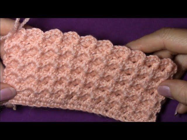 Объёмный узор для шапки берета
