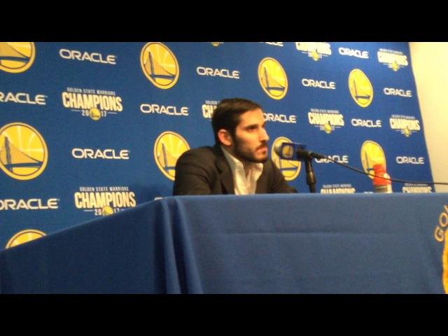 OMRI CASSPI: Durant provides encouragement to bench