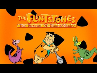 The Flintstones: The Rescue of Dino & Hoppy (NES/Денди) 60fps