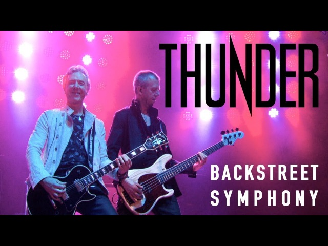 Thunder Backstreet Symphony (Live in Cardiff) - New Live Album STAGE out March 23rd