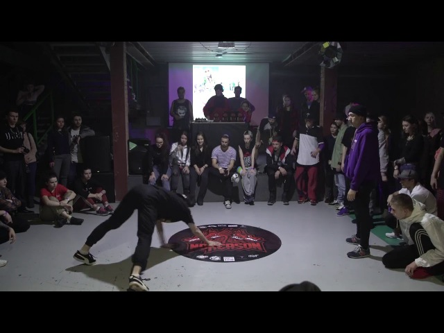 NOREASON DANCE FEST   HIP HOP 1/8 FINAL   ВИТЯ S.G.P. VS MIKE AAREN()