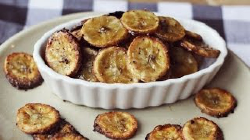 Банановые чипсы. Чипсы из бананов. Банановые чипсы в духовке. Банановые чипсы до ...