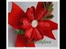 Лепесток сердечко . Цветок Канзаши мастер класс. Petal heart . Flower Kanzashi master class. DIY