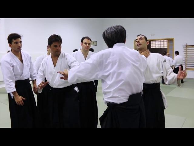 SEMINARIO HARUO MATSUOKA SENSEI AIKIDO KISEI DOJO SEVILLA
