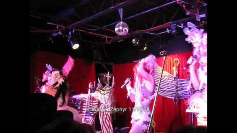 Emilie Autumn - Misery Loves Company (live clip)