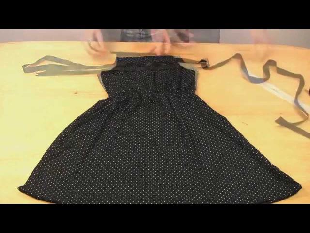 Как научиться Шить Как сшить платье без выкройки