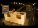 Fastbrick Robotics Hadrian 105 Time Lapse fastbrick robotics hadrian 105 time lapse