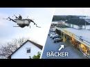 Mit der FLIEGENDEN BADEWANNE zum BÄCKER! Bemannte Drohne 4
