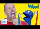 Steve Brush your Teeth MORE Stories for Kids from Steve and Maggie with Bobby Wow English TV