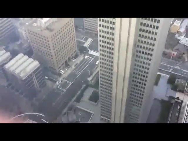Японские небоскребы шатаются