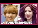 KPOP IDOLS VS 4D FUNNY MOMENTS [100KSUBS] BTS BLACKPINK GOT7 REDVELVET TWICE EXO ETC