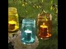 Оригинальные светильники своими руками для дачи, сада