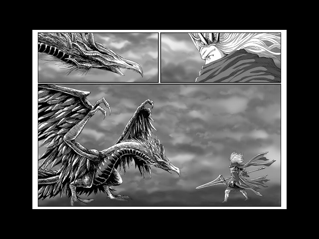 Speed drawing Nameless King and The King of Storm