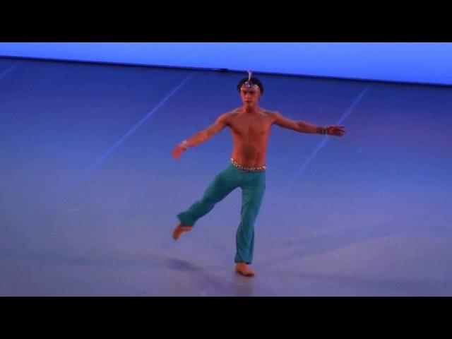 Le Corsaire Ali variation - 8 various dancers for comparison
