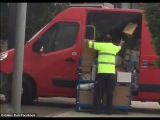 'Hope there's nothing too important' Postman caught in the act
