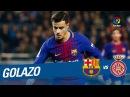 Golazo de Coutinho 5 1 FC Barcelona vs Girona FC