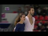 Gabriella Papadakis / Guillaume Cizeron. Trophy de France 2017, FD