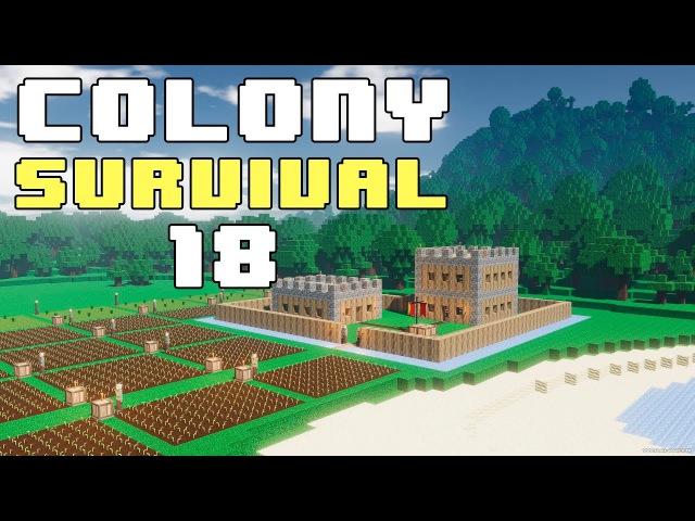 Прохождение COLONY SURVIVAL: 18 - ОБСЕРВАТОРИЯ!