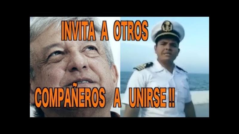 Marino expresa todo su apoyo para López Obrador !!