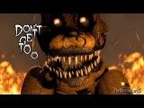 5 Ночей с Фредди фнаф Песня - Демоны (FNAF) На Русском