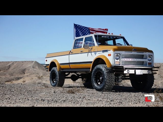 Driving Line Ride of the Week 1972 K50 Crew Cab
