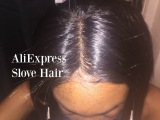 Aliexpress Hair Review Slove Hair Frontal + Bundles under $100 Steph Xo