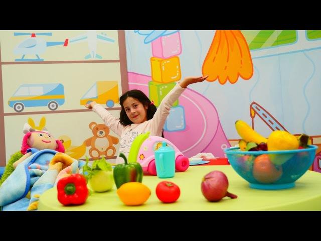 Hasta Oyunu Smarta GRİP oldu sebze çorba pişiriyoruz Evcilik oyunları Eğitici okul öncesi video