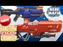 Новые нёрф бласты 2018 Спойлер 2 Новых Бластера 2018 Nerf Mega thunderhawk N-Stike Elite Infinius