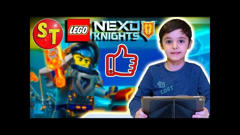 ИГРА ЛЕГО Мерлок 2. Наши силы нексо найтс! LEGO nexo knights | funny kids.