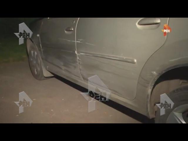 Очевидцы рассказали о подростках угнавших машину и сбивших пешехода в Подмоско