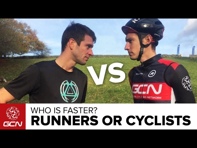 Running Vs. Cycling | Who Is Faster - GCN Or GTN?