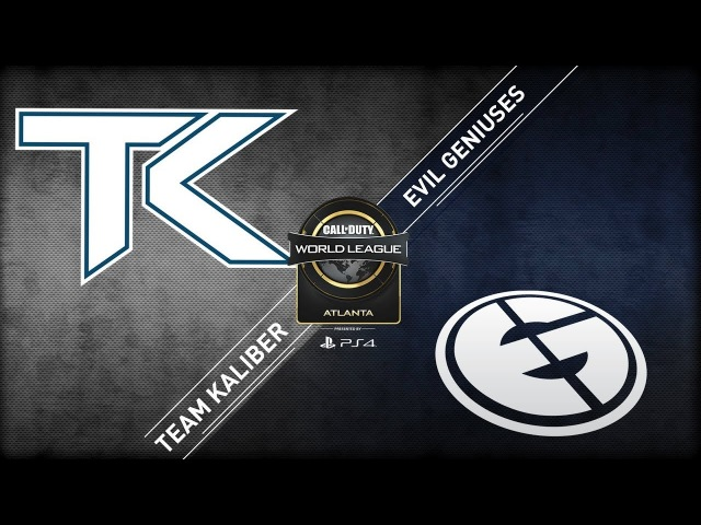 Team Kaliber vs Evil Geniuses CWL Atlanta Open 2018 Bravo Stream Day 1
