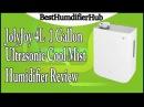 JolyJoy 4L / 1 Gallon Ultrasonic Cool Mist Humidifier Review