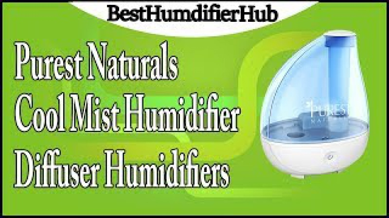 Purest Naturals Cool Mist Humidifier Diffuser Humidifier Review
