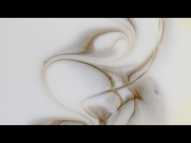Resin art demo from start to finish Cool drizzle technique 10 30 actual pour