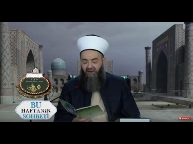 Cübbeli Ahmet Hocaefendi Kaside-i Bürdeyi Okuyor.