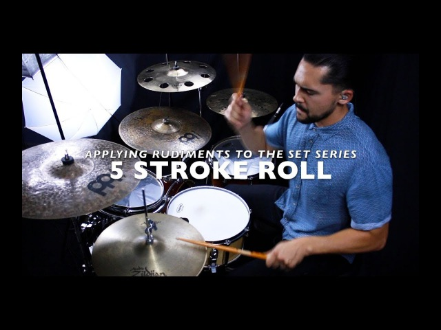 Applying Rudiments On The Drums 5 Stroke Roll Hat Lick With Eric Fisher