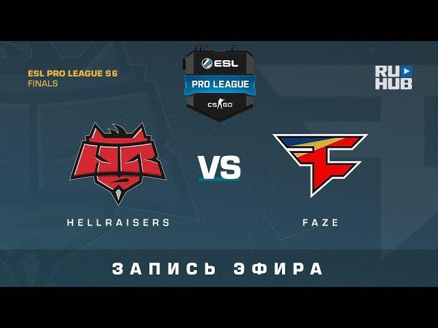 Hellraisers vs FaZe - ESL Pro League Finals - de_overpass