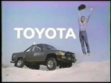 VINTAGE 80'S OH WHAT A FEELING TOYOTA COMMERCIAL #2 W UPSIDE DOWN CARS