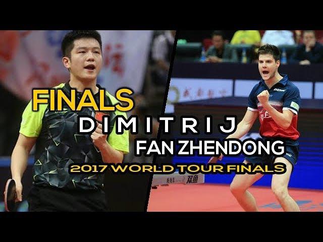 [MS-FINAL] FAN Zhedong Vs OVTCHAROV Dimitrij - 2017 WTGrand Finals - Full Match/FULLHD1080p60