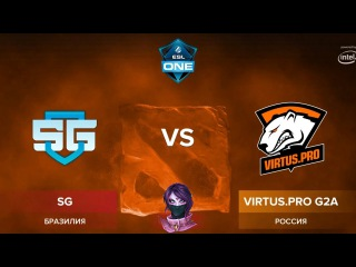 VP vs SG E-Sports RU (bo1) ESL One Genting 2018 Minor 23.01.2018