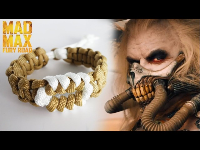 How To Make the Mad Max Serpent's Eye Paracord Bracelet | Immortan Joe Themed