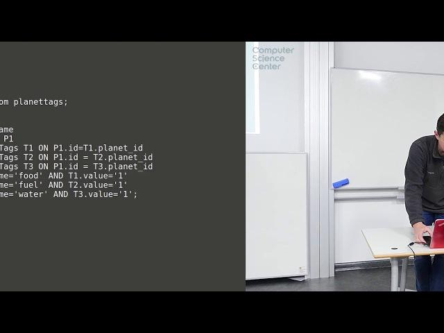 Лекция 9 Ключ значение и JSON
