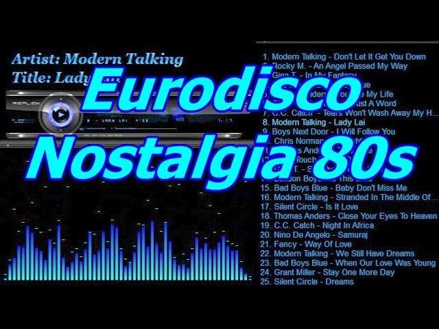 Eurodisco Nostalgia 80s
