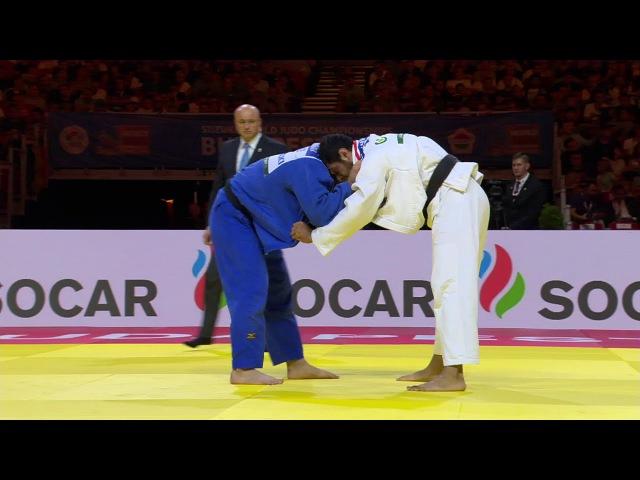WC Budapest 2017, 100 kg, bronze medal contest, Elmar Gasimov(AZE)-Elkhan Mammadov(AZE) vk.com/dzigoro_kano