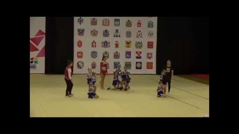Cheerleading .Чирлидинг - группа младшие дети-Vesca Baby.