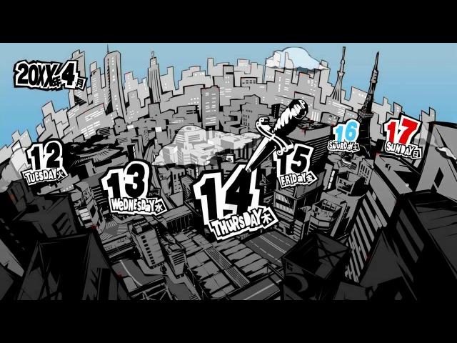 Persona 5 - Интервью с Кацурой Хасино (rus)
