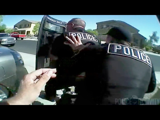 Bodycam Shows Intense Police Shootout in Buckeye, Arizona
