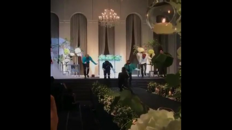170930 BNM Boys на свадьбе у Раймера